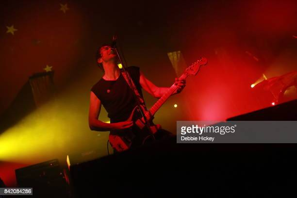 02 Brian King of Japandroids performs at Electric Picnic Festival at Stradbally Hall Estate on September 2 2017 in Laois Ireland