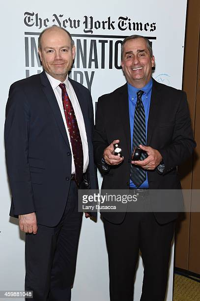 Brian Krzanich CEO Intel Corporation discusses Luxottica partnership for the first time with Mark Thompson President and CEO The New York Times...