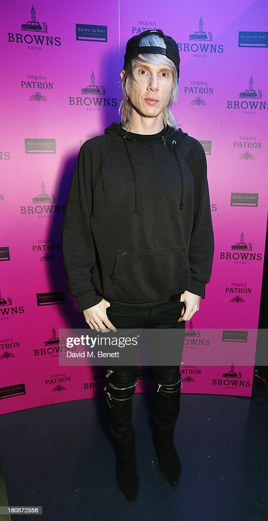Brian Lichtenberg attends the party hosted by Browns Focus & Designer Brian Lichtenberg to officially launch the NEW Browns Focus at 24 South Molton Street on September 14, 2013 in London, United Kingdom.