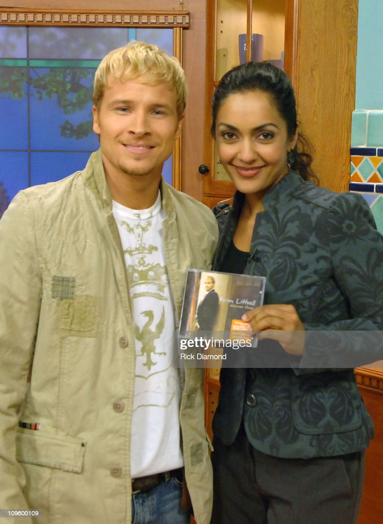 "Brian Littrell Visits ""Good Morning Atlanta"" To Promote His Album ""Welcome Home"" - May 2, 2006"