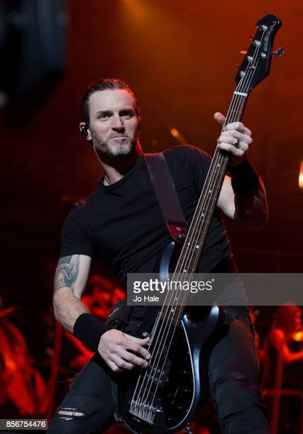 Brian Marshall of Alter Bridge performs at Royal Albert Hall on October 2 2017 in London England