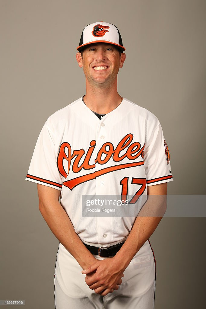 Brian Matusz #17 of the Baltimore Orioles poses during Photo Day on Sunday, March 1, 2015 at Ed Smith Stadium in Sarasota, Florida.