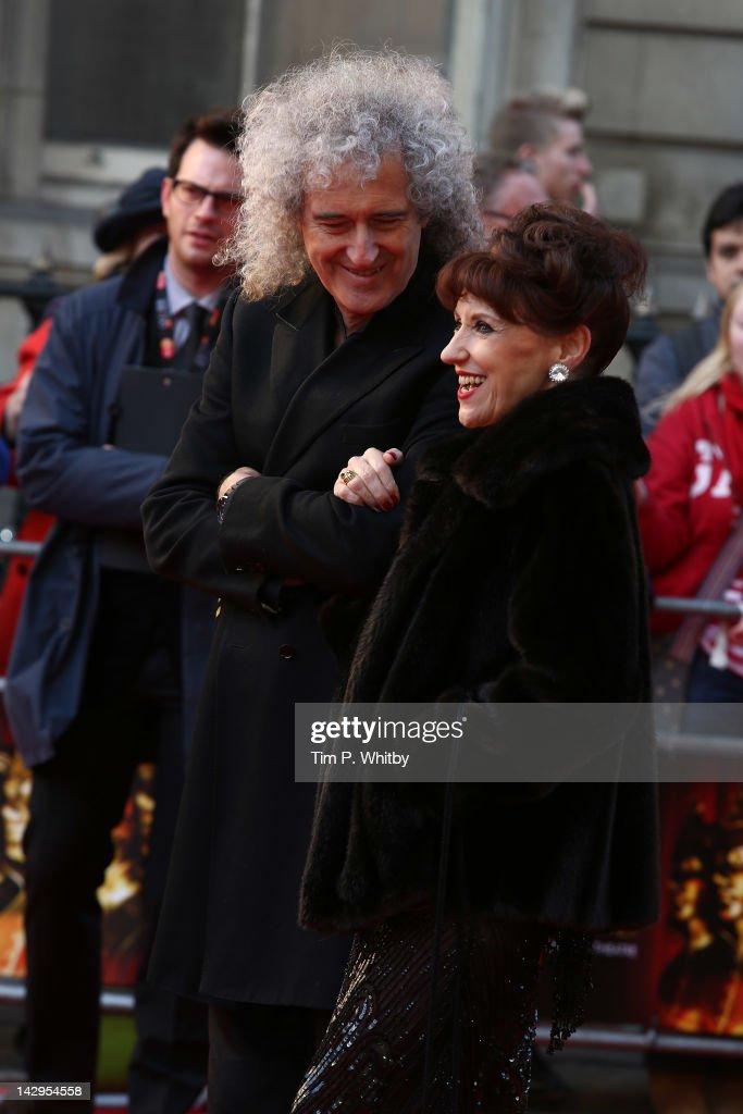 Olivier Awards 2012 - Arrivals