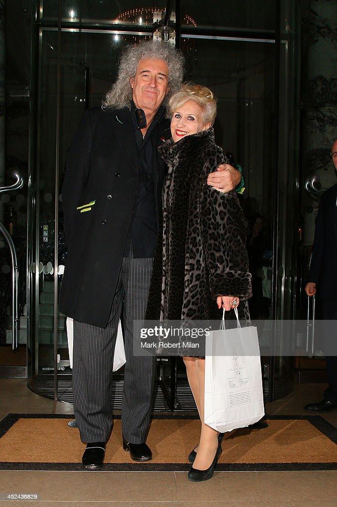 Celebrity Sightings In London - November 28, 2013