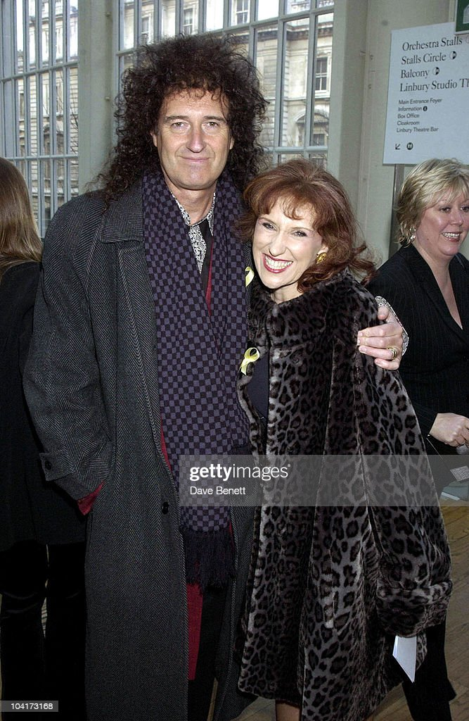 Brian May And Anita Dobson, The Laurence Olivier Theatre Awards 2003 Held At The Lyceum Theatre In London