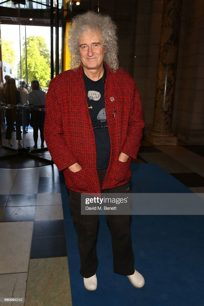 Brian May attends the 'Pink Floyd: Their Mortal Remains' Gala Night at The V&A on May 9, 2017 in London, United Kingdom.
