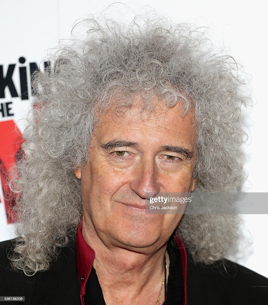 <a gi-track='captionPersonalityLinkClicked' href=/galleries/search?phrase=Brian+May&family=editorial&specificpeople=158059 ng-click='$event.stopPropagation()'>Brian May</a> attends the UK Gala Screening of 'Breaking the Bank' at Empire Leicester Square on May 31, 2016 in London, England.