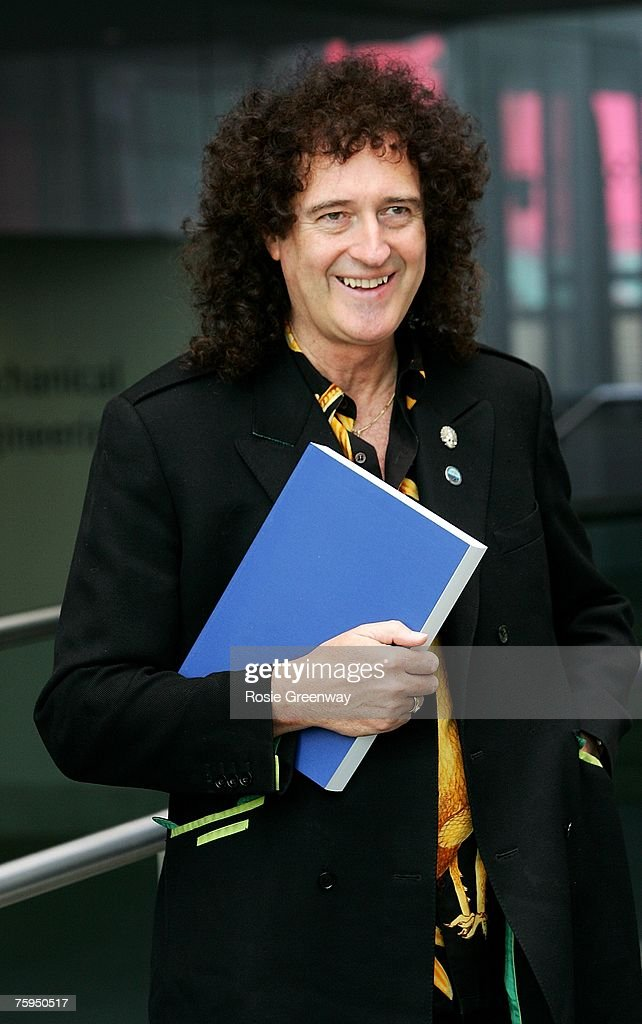 Brian May Submits His Thesis To Imperial College London Photos and     nmctoastmasters