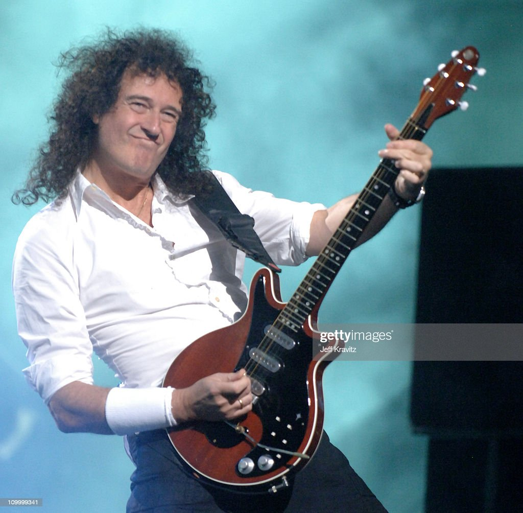 Brian May of Queen during 2006 VH1 Rock Honors - Show at Mandalay Bay Hotel and Casino in Las Vegas, Nevada, United States.