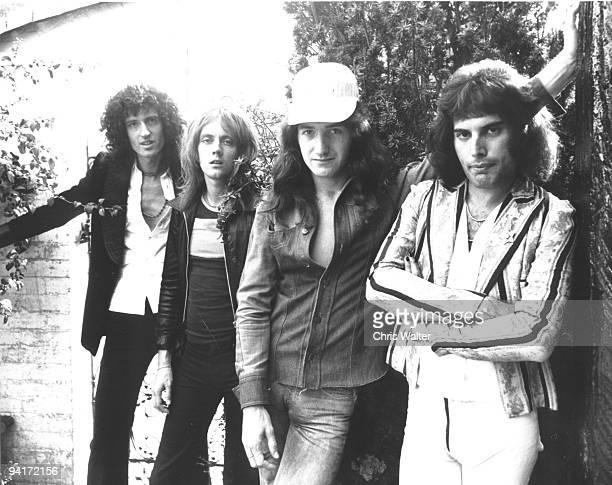 QUEEN 8/75 Brian May Roger Taylor John Deacon Freddie Mercury