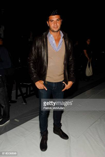 Brian Mazza attends Richie Rich 2011 Fashion Show at The Studio at Lincoln Center on September 9 2010 in New York City