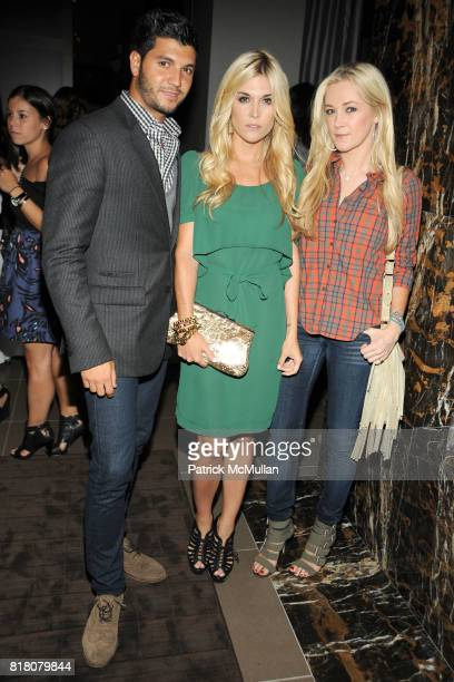 Brian Mazza Tinsley Mortimer and Dabney Mercer attend COLUMBIA PICTURES THE CINEMA SOCIETY host the after party for 'THE SOCIAL NETWORK' at...