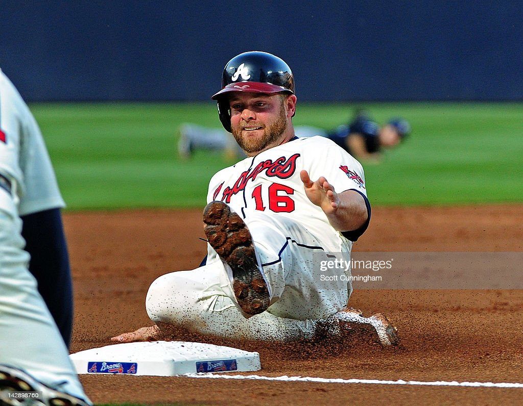 <a gi-track='captionPersonalityLinkClicked' href=/galleries/search?phrase=Brian+McCann+-+Baseball+Player&family=editorial&specificpeople=593065 ng-click='$event.stopPropagation()'>Brian McCann</a> #16 of the Atlanta Braves pitches against the Milwaukee Brewers at Turner Field on April 14, 2012 in Atlanta, Georgia.