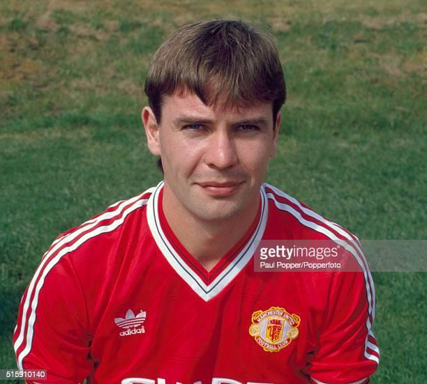Brian McClair of Manchester United circa August 1987