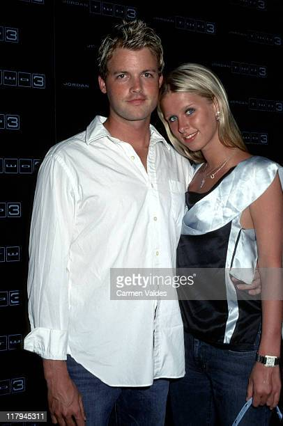 Brian McFayden and Nicky Hilton during Nike Presents The 'Jordan Two 3 ' Collection at Pier 59 Studios in New York City New York United States