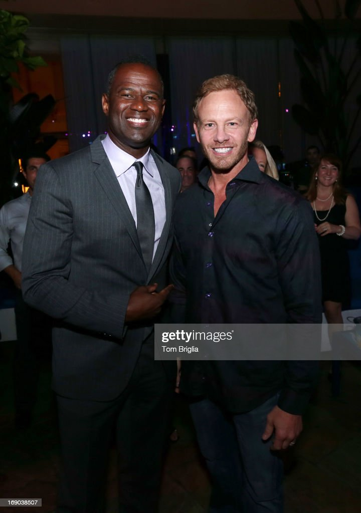 <a gi-track='captionPersonalityLinkClicked' href=/galleries/search?phrase=Brian+McKnight&family=editorial&specificpeople=206619 ng-click='$event.stopPropagation()'>Brian McKnight</a> and (R) <a gi-track='captionPersonalityLinkClicked' href=/galleries/search?phrase=Ian+Ziering&family=editorial&specificpeople=622264 ng-click='$event.stopPropagation()'>Ian Ziering</a> visited The Pool After Dark at Harrah's Resort on Friday May 18, 2013 in Atlantic City, New Jersey.