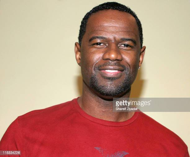 Brian McKnight during 1075 Christmas Show December 13 2004 at BB Kings in New York City New York United States