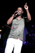 Brian McKnight during Brian McKnight Dwele and Lorenzo Owens Perform in Chene Park's Classic Soul Series July 7 2006 at Chene Park in Detroit...