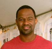 Brian McKnight during Celebrity Hurricane Katrina Benefit September 8 2005 at Ed Hardy Store in Los Angeles California United States
