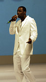 Brian McKnight during 'Light As A Feather' Fashion Show Uniting Fashion And Music On The West Coast at The Los Angeles Convention Center in Los...