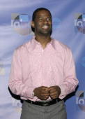 Brian McKnight during 'Motown 45' Anniversary Celebration Press Room April 4 2004 at Shrine Auditorium in Los Angeles California United States