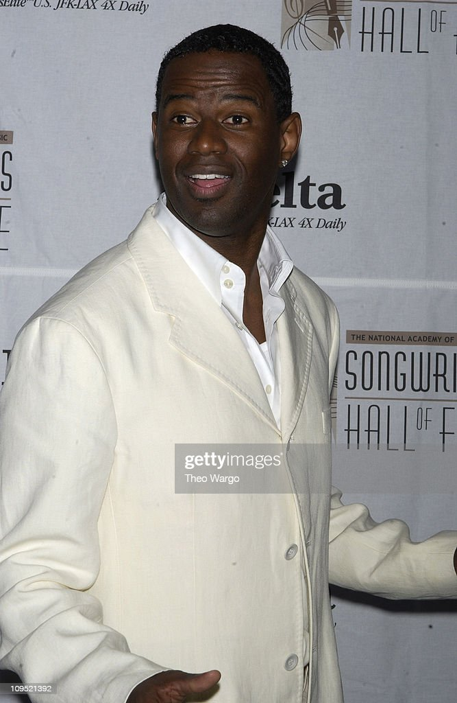 Brian McKnight during Songwriters Hall of Fame Awards - Press Room at Sheraton Towers in New York City, New York, United States.