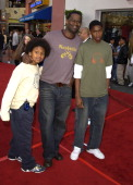Brian McKnight Family during The World Premiere of 'Bruce Almighty' at Universal Amphitheatre in Universal City California United States