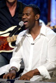 Brian McKnight on the 'Jimmy Kimmel Live' show on ABC Photo by Jesse Grant/WireImagecom/ABC