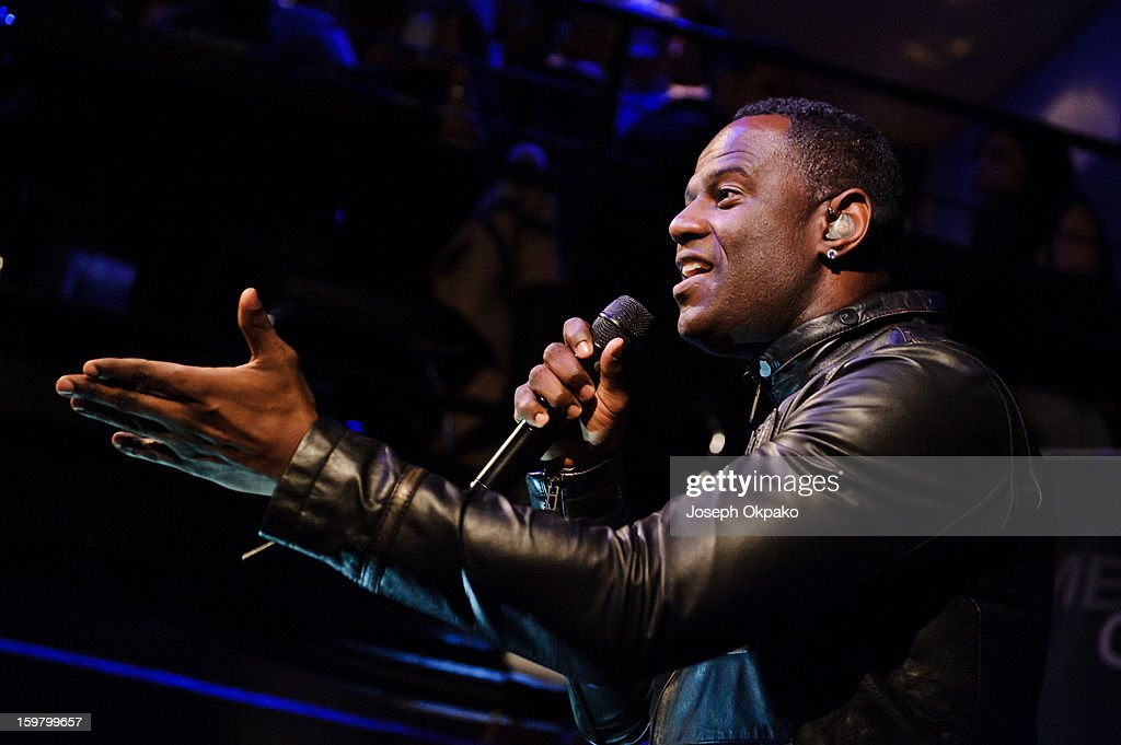 Brian McKnight performs at The Jazz Cafe on January 20, 2013 in London, England.