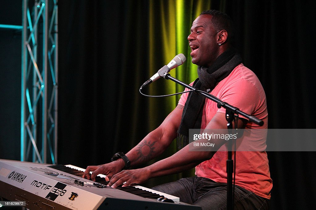 Brian McKnight performs at WDAS iHeartRadio Performance Theater February 13, 2013 in Bala Cynwyd, Pennsylvania.