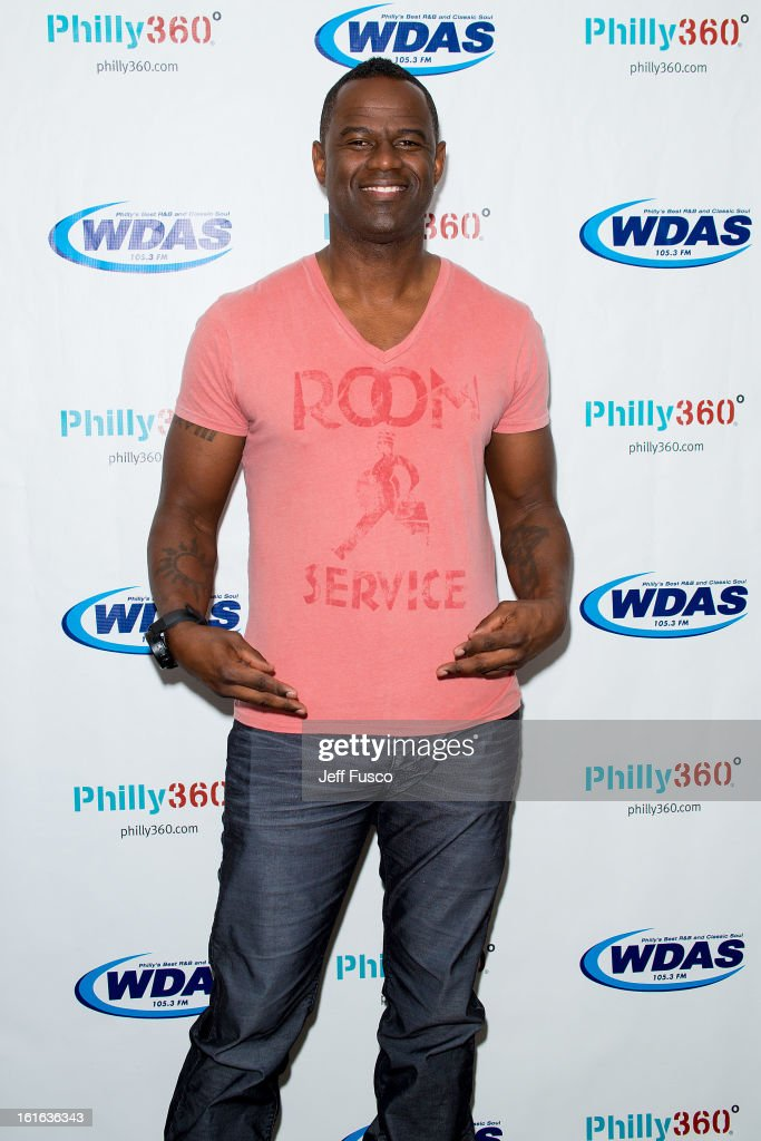 <a gi-track='captionPersonalityLinkClicked' href=/galleries/search?phrase=Brian+McKnight&family=editorial&specificpeople=206619 ng-click='$event.stopPropagation()'>Brian McKnight</a> poses at the WDAS iHeart Performance Theater on February 13, 2013 in Bala Cynwyd, Pennsylvania.