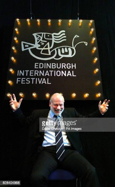 Brian McMaster announces his final programme as Director of the Edinburgh International Festival at the Hub Cafe in Edinburgh Wednesday March 22 2006...
