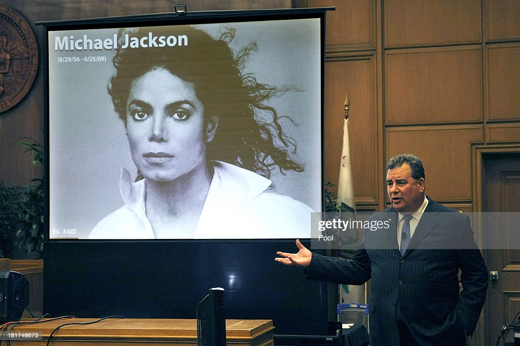 Brian Panish, attorney for the <a gi-track='captionPersonalityLinkClicked' href=/galleries/search?phrase=Michael+Jackson&family=editorial&specificpeople=70011 ng-click='$event.stopPropagation()'>Michael Jackson</a> family delivers his closing argument to jurors in the <a gi-track='captionPersonalityLinkClicked' href=/galleries/search?phrase=Michael+Jackson&family=editorial&specificpeople=70011 ng-click='$event.stopPropagation()'>Michael Jackson</a> lawsuit against concert promoter AEG Live LLC September 24, 2013 in downtown Los Angeles. Final arguments began today in the <a gi-track='captionPersonalityLinkClicked' href=/galleries/search?phrase=Michael+Jackson&family=editorial&specificpeople=70011 ng-click='$event.stopPropagation()'>Michael Jackson</a> wrongful death case which alledges that entertainment conglomerate AEG is liable in the pop star's 2009 death.
