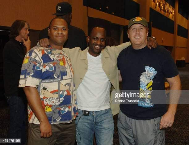 Brian Patrice Julian Curry and Shaun Gabriel attend the 2008 World Championship of Fantacy Football Celebrity League at the Hilton Hotel and Casino...