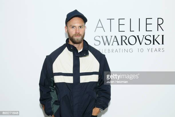 Brian Phillips attends the Atelier Swarovski By Jason Wu dinner as part of the Paris Fashion Week Womenswear Spring/Summer 2018 on September 28 2017...