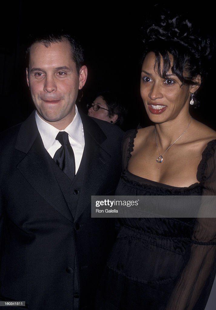 Brian Robbins and Laura Cathcart attend Nineth Annual Diversity Awards on November 17 2001 at the Highland's Ballroom in Hollywood California