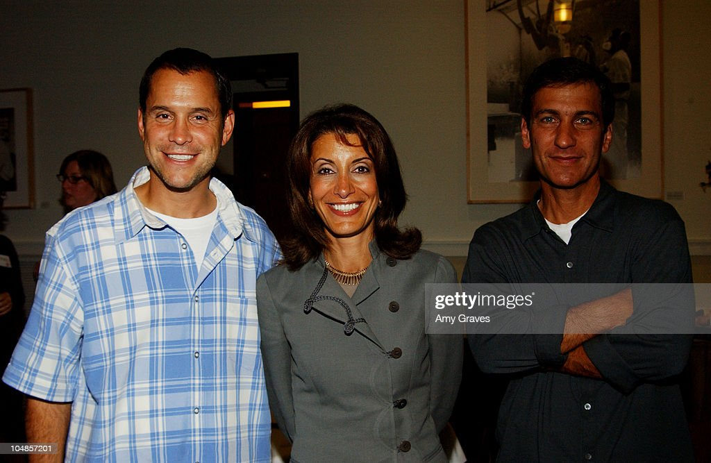 Brian Robbins Partner of Tollin/Robbins Angela Shapiro President of ABC Family Channel and Mike Tollin Partner of Tolling/Robbins Productions