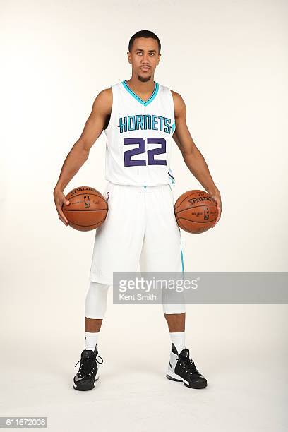 Brian Roberts of Charlotte Hornets poses for Media Day Portraits at the Time Warner Cable Arena on September 26 2016 in Charlotte North Carolina NOTE...