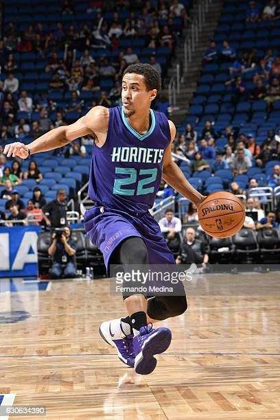 Brian Roberts of the Charlotte Hornets handles the ball against the Orlando Magic during the game on December 28 2016 at Amway Center in Orlando...