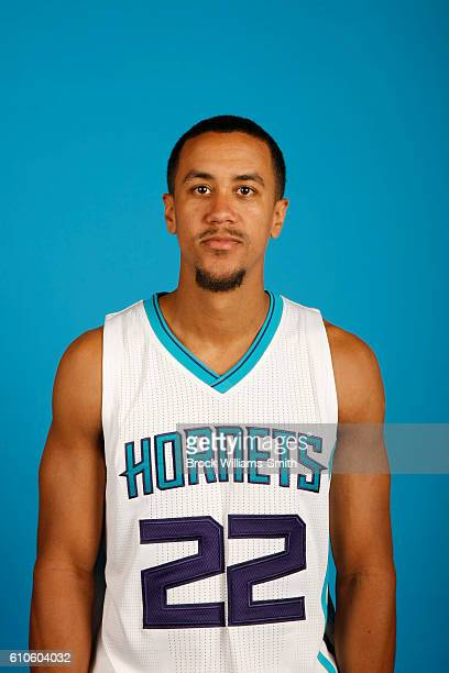 Brian Roberts of the Charlotte Hornets poses for a head shot during the 20162017 Charlotte Hornets Media Day at the Time Warner Cable Arena on...
