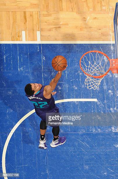 Brian Roberts of the Charlotte Hornets shoots the ball against the Orlando Magic on January 22 2016 at Amway Center in Orlando Florida NOTE TO USER...