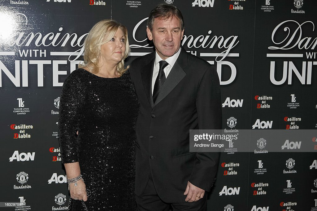 Brian Robson attends the Manchester United Foundations Dancing with united charity fundraiser at Lancashire County Cricket Club on March 7, 2013 in Manchester, England.