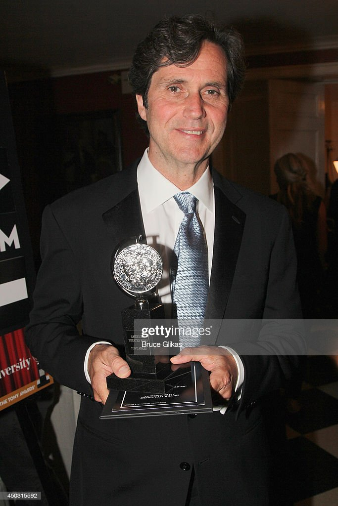Brian Ronan poses in the press room during the American Theatre Wing's 68th Annual Tony Awards at Radio City Music Hall on June 8, 2014 in New York City.