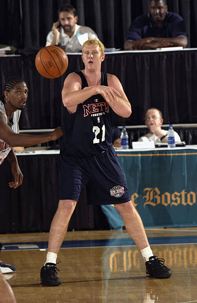 Jiri Welsch 44 of the Boston Celtics is defended Brian scalabrine Brian  BabineauGetty Scalabrine passes ... f0db64a1f
