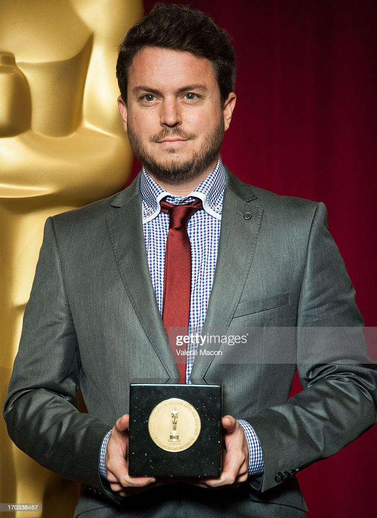Brian Schwarz attends The Academy Of Motion Picture Arts And Sciences' 40th Annual Student Academy Awards Ceremony at AMPAS Samuel Goldwyn Theater on...