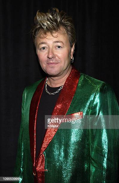 Brian Setzer backstage at TNT's 'Christmas in Washington' Concert to air Sunday December 15 at 8pm ET/PT live from the National Building Museum in...