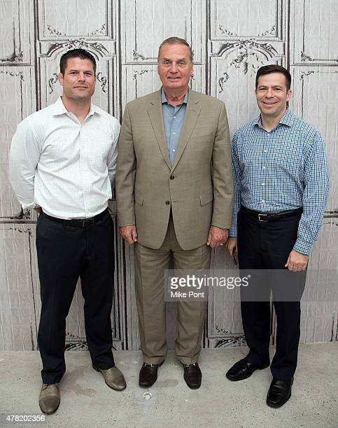 Brian Stann General James L Jones and Dan Goldenberg attend the AOL Build Speaker Series at AOL Studios In New York on June 23 2015 in New York City