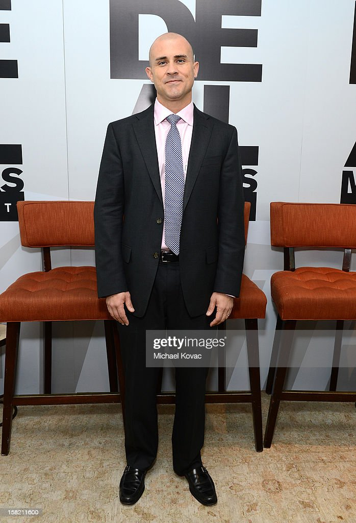 Brian Stearns, Bank of America attends Variety's Dealmakers Breakfast presented by Bank Of America at Soho House on December 11, 2012 in West Hollywood, California.