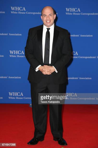 Brian Stelter attends the 2017 White House Correspondents' Association Dinner at Washington Hilton on April 29 2017 in Washington DC