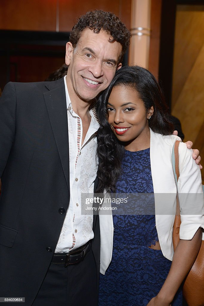 <a gi-track='captionPersonalityLinkClicked' href=/galleries/search?phrase=Brian+Stokes+Mitchell&family=editorial&specificpeople=213301 ng-click='$event.stopPropagation()'>Brian Stokes Mitchell</a> (L) and <a gi-track='captionPersonalityLinkClicked' href=/galleries/search?phrase=Adrienne+Warren&family=editorial&specificpeople=6536003 ng-click='$event.stopPropagation()'>Adrienne Warren</a> attend Toast To The 2016 Tony Awards Creative Arts Nominees at The Lambs Club on May 24, 2016 in New York City.